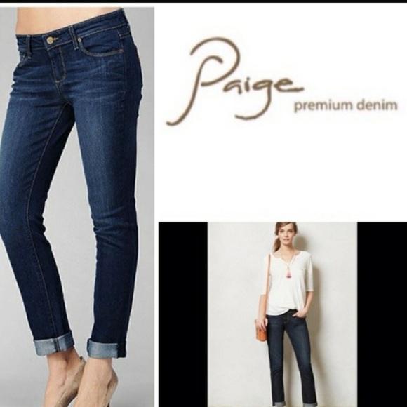 6c8e478f090 Paige Jimmy Jimmy Skinny Distressed Jeans. Sz 30. M_5a94cceb8df4701115833021